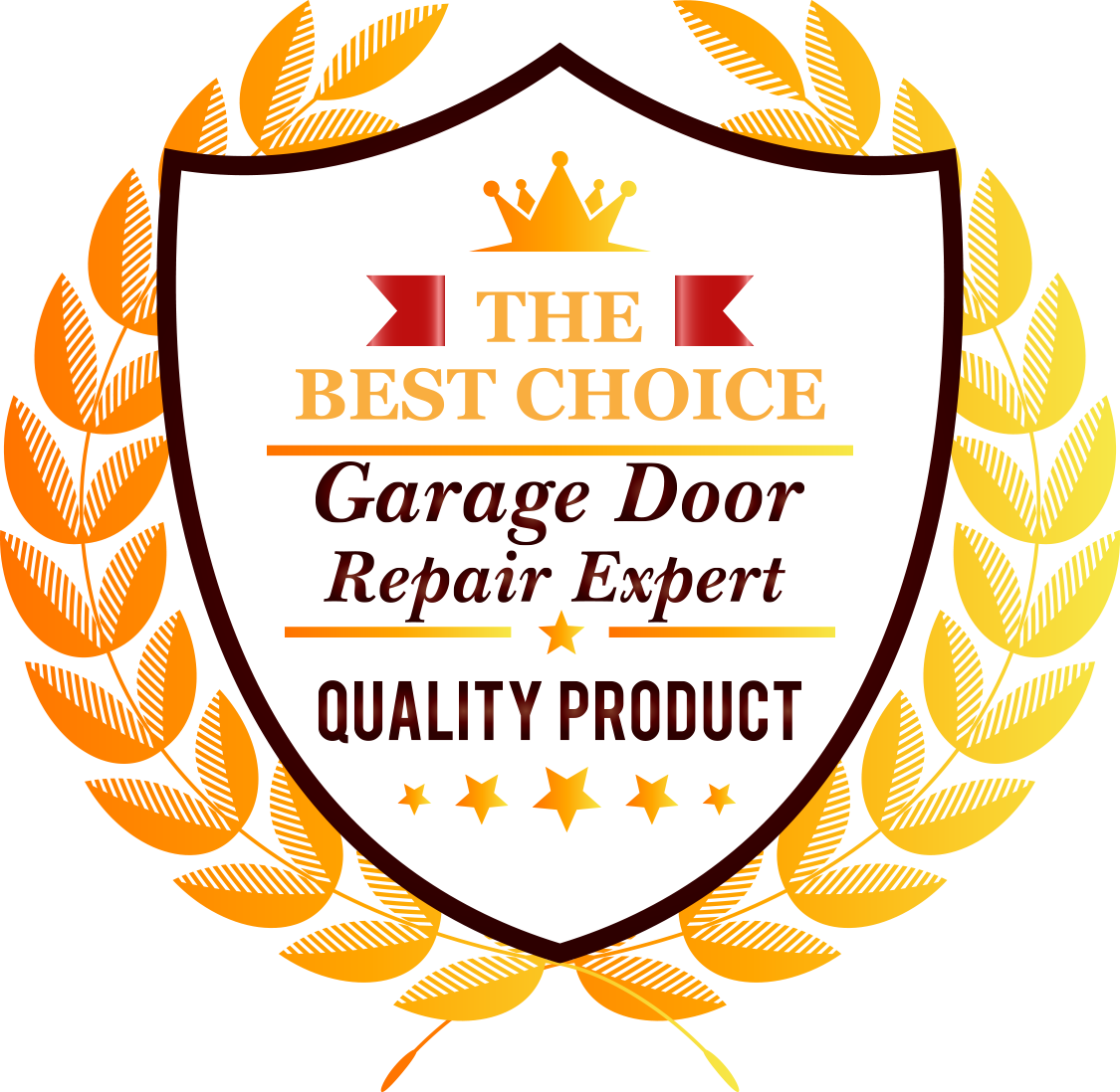 Badge - Garage Door Repair Expert