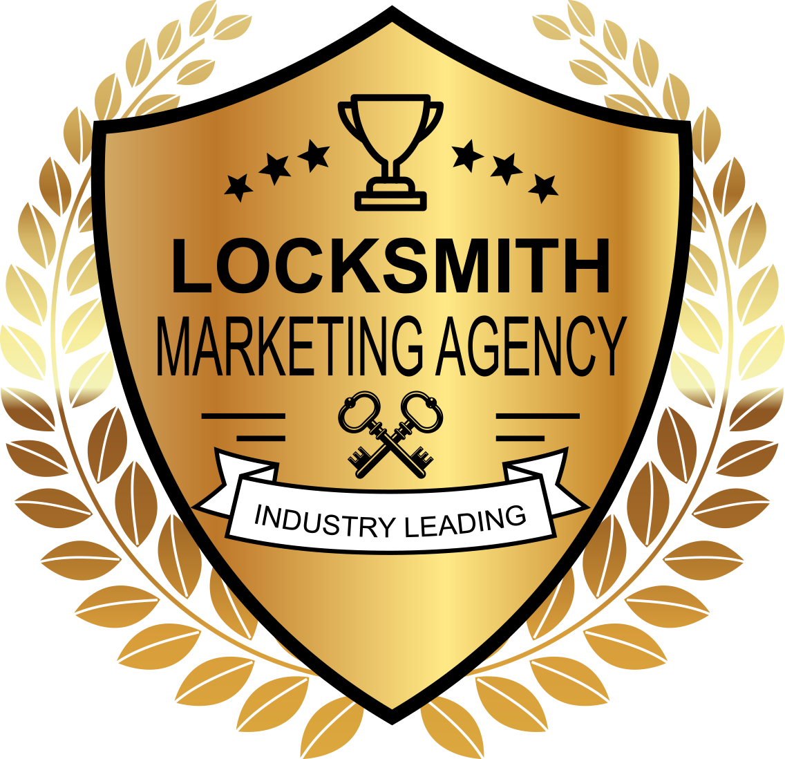 Badge - Industry Leading Locksmith Marketing Agency