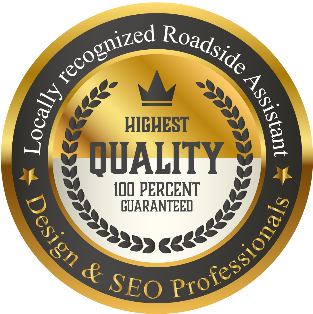 Badge - Locally recognized Roadside Assistant Design & SEO Professionals